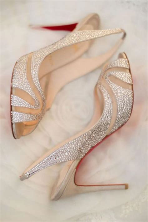 christian louboutin wedding shoes chic and fashionable