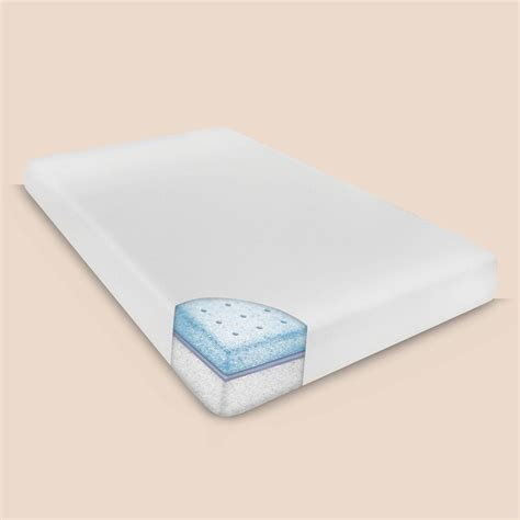 Size Memory Foam Mattress by Biopedic Smooth Top 6 In Xl Size Memory Foam