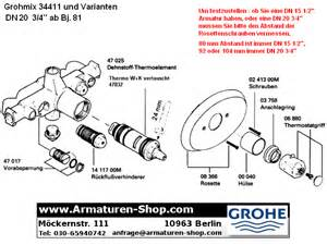 grohe wasserhahn ersatzteile grohe ersatzteile f 252 r grohmix armaturen im armaturen shop
