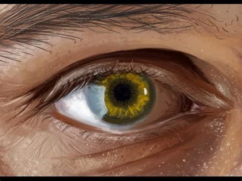realistic eye realistic eye from how to paint a realistic eye