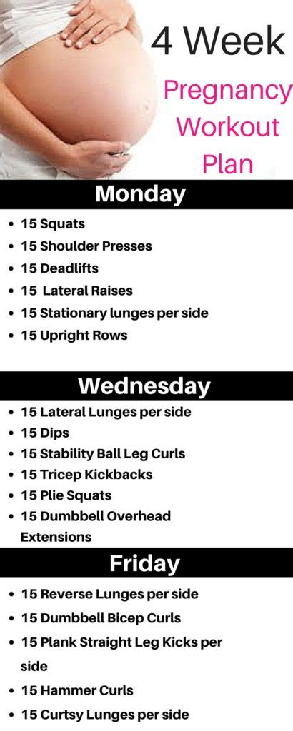 weight exercises for
