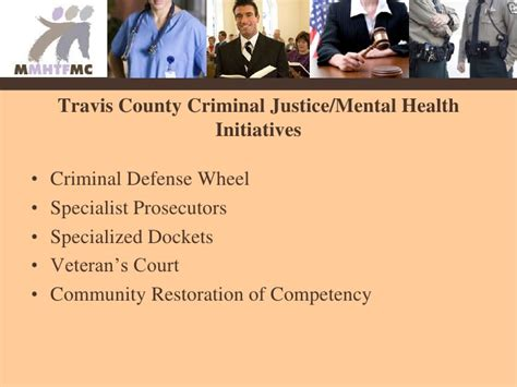 Mba Court Laison Committee by Travis County Behavioral Health Indicators Project