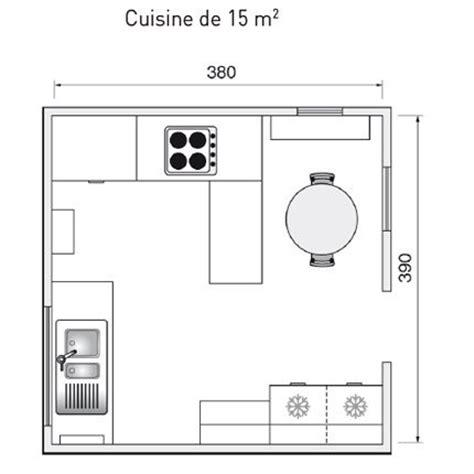 comment am駭ager une cuisine de 9m2 plan de cuisine l am 233 nager de 1m2 224 32m2