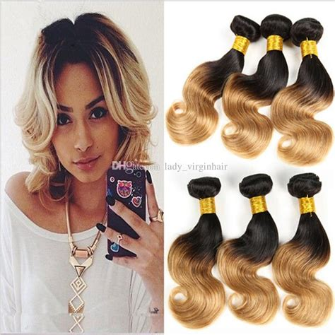 bob two tone hair color pictures for short hair short wavy bob style hair weaves two tone color 1b 27