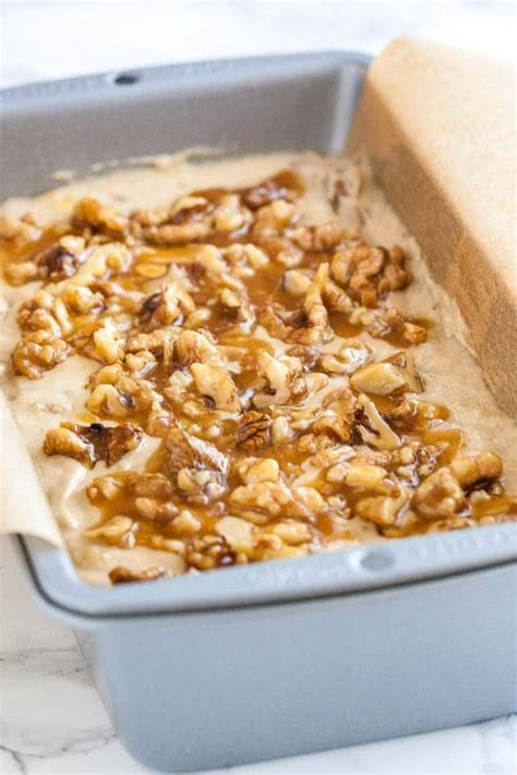 best banana nut bread best banana nut bread recipe with caramelized nut topping