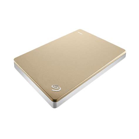Seagate Harddisk Eksternal 1 Tb jual seagate backup plus slim harddisk external 1tb gold harga kualitas terjamin