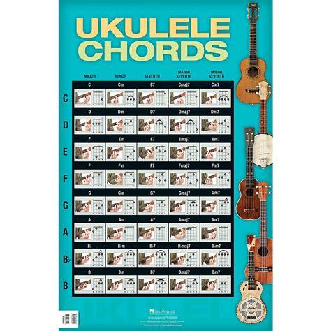 ukulele chord book 300 chords books books cds hal leonard ukulele