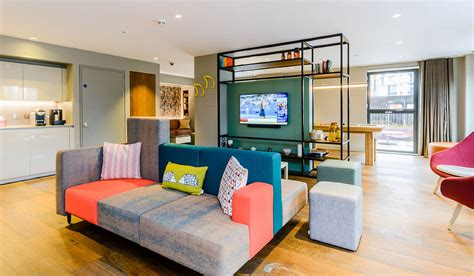 hotel inspired rental flats arrive  wembley