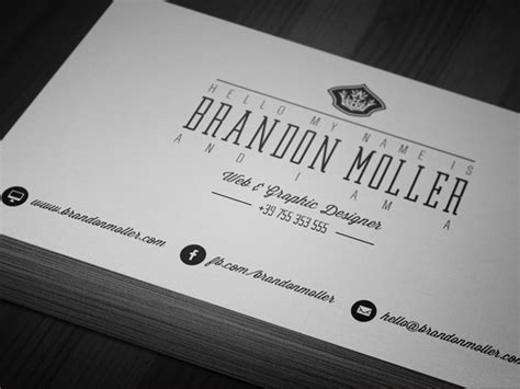 vintage business card template psd 50 epic psd business card template files
