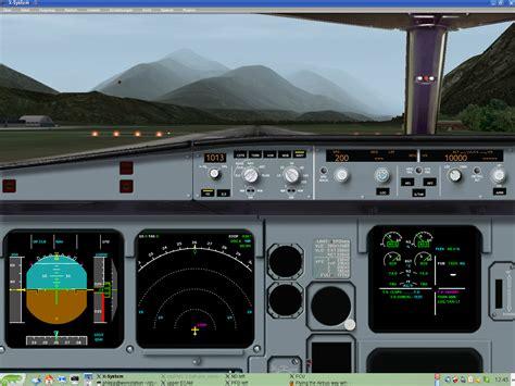 Mit Freundlichen Grüssen Zürich Vasfmc 2 08 In X Plane Neue Screenshots Vom Airbus Mode