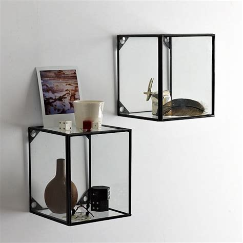 Display Wall Shelf by Glass Display Shelf