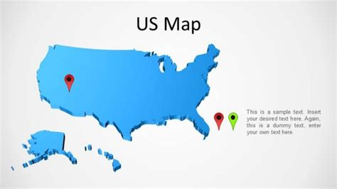 us map powerpoint template us map powerpoint slidemodel
