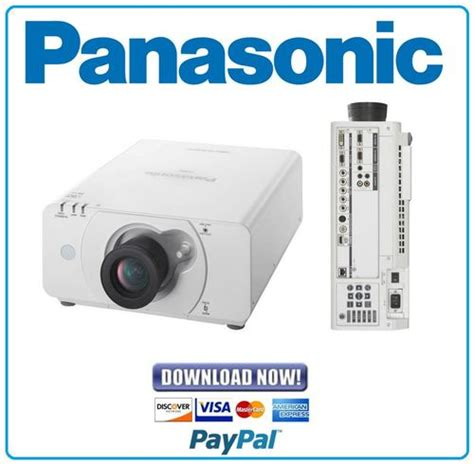 panasonic pt dz570 l panasonic pt dz570 dw530 dx500 service manual and repair