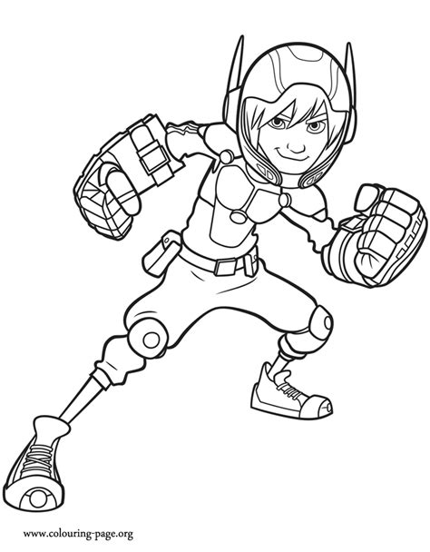 big hero six coloring pages coloring pages