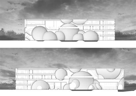 c section bath liepaja thermal bath steven christensen architecture