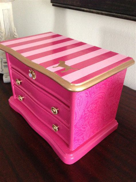 Decorating Ideas For Jewelry Boxes Vintage Up Cycled Jewelry Box Inspired By From