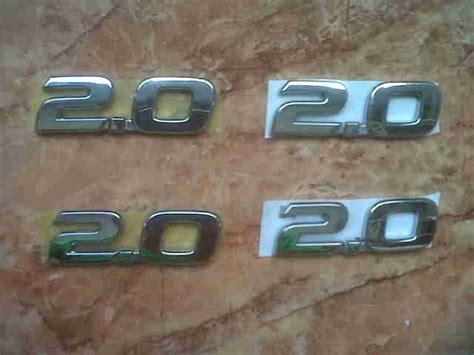 Pelindung Pintu Mobil Innova Door Guard Emboss Innova emblem tulisan 2 0 rivo variasi