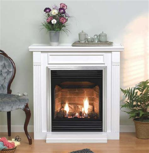 wood and gas fireplace ventless gas fireplaces controversial but potentially