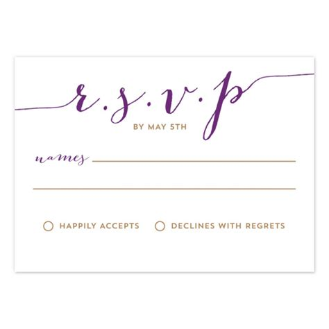 free rsvp template sle menus cake ideas and designs