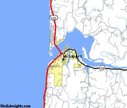 waldport oregon map waldport vacation rentals hotels weather map and