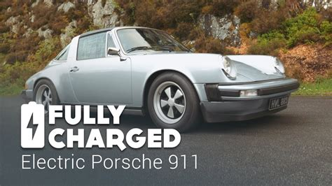electric porsche 911 electric porsche 911 fully charged