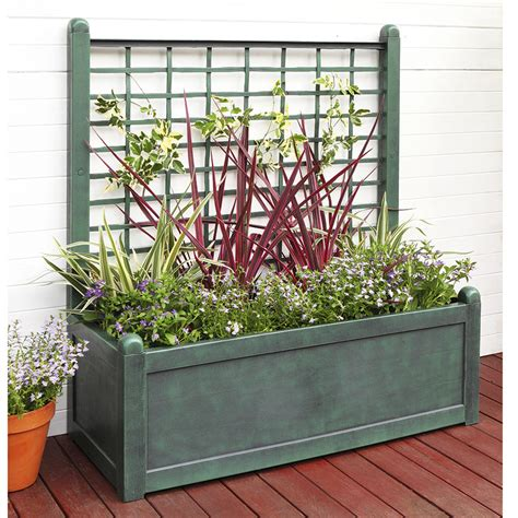 Wide Trellis Refurbished Wide Trellis Planter Ebay