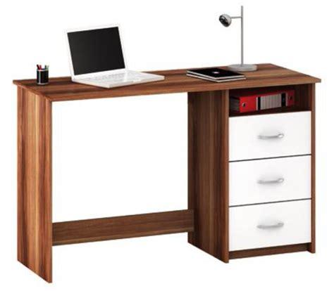 Schreibtisch Mit überbau by Schreibtisch Nussbaum Weiss Mit 3 Schubk 228 Sten