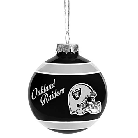 oakland raiders christmas tree ornaments christmas