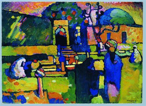 biography kandinsky artist wassily kandinsky arabischer friedhof 1909 214 l auf pappe