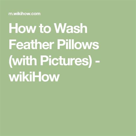 How To Clean A Feather Comforter by 1000 Ideas About Feather Pillows On