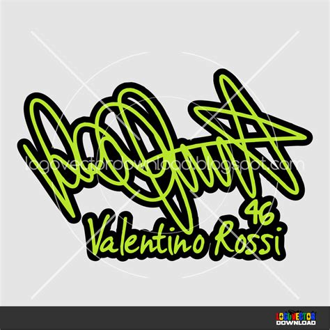 rossi logo valentino rossi logo vector www pixshark com images