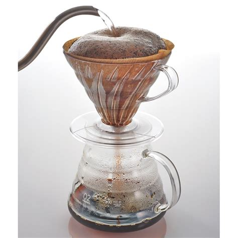Hario Dripper V60 Glass Vdgn 02b hario v60 dripper duismann coffee