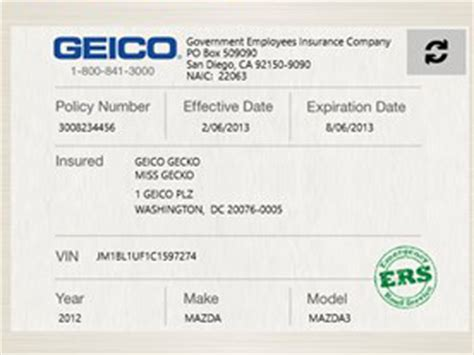 14 Images Of Fake Geico Insurance Card Template Elecitem Com Progressive Auto Insurance Card Template