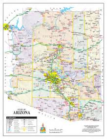 arizona state maps map of arizona arizona maps mapsof net