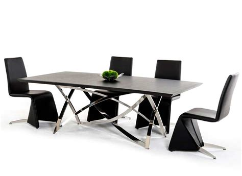 Contemporary Dining Table Chairs Contemporary Dining Table Vg120 Modern Dining