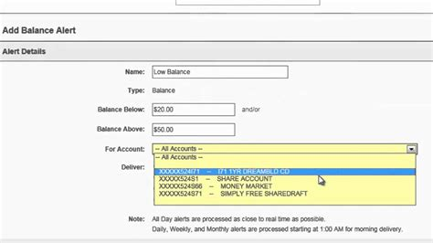 tutorial online banking alerts tutorial for flfcu online banking youtube