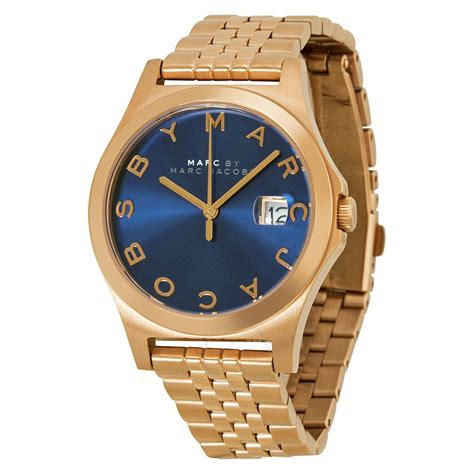 Marc By Marc S Mbm3353 Slim Two Tone Stainless Steel Watc marc by marc the slim blue gold tone steel s mbm3316 marc by marc