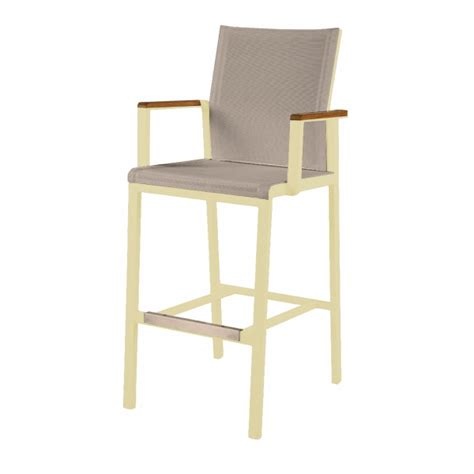 Barlows Furniture by Barlow Tyrie Aura High Dining Carver Chair Barlow Tyrie