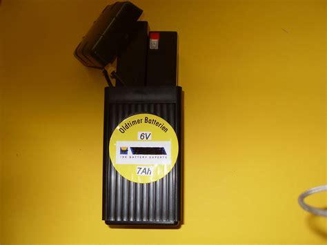 Oldtimer Motorradbatterien 6 Volt by Leergeh 228 Use 2 Batterien 6v 3 3 Ah Der Shop F 252 R Fast