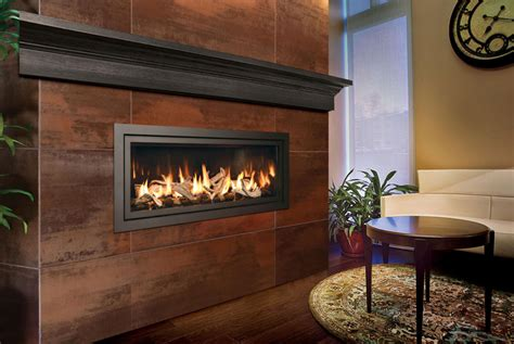 modern linear gas fireplace electric fireplaces convenient for modern homeowners