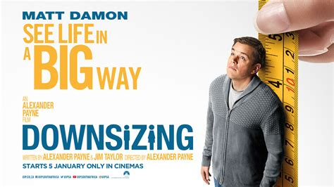downsizing movie delicate mint downsizing movie review