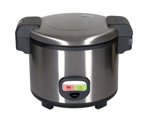 commercial quality stainless steel rice cooker with a 12