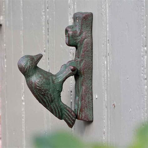 Bird Door Knocker by Buy Woodpecker Door Knocker The Worm That Turned
