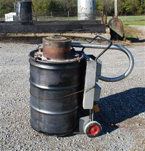 portable incinerator burn barrel skimoil inc skimoil