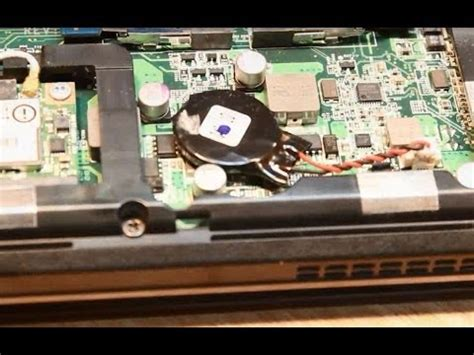 reset laptop by removing battery cmos or bios battery remove from acer aspire timeline
