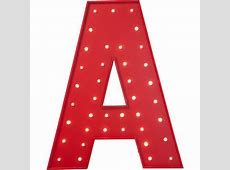 Red A - Dr. Odd H Alphabet In Style