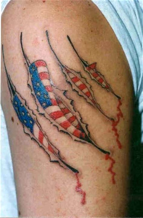 tattoo ideas patriotic american flag tattoos