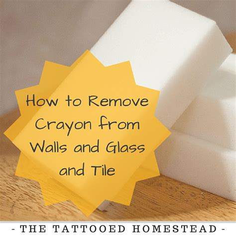 remove crayon from wall how to remove crayon from walls and glass and tile