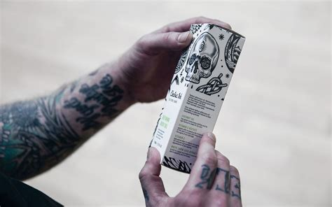 tattoo leeds food new packaging for electric ink by robot food bp o