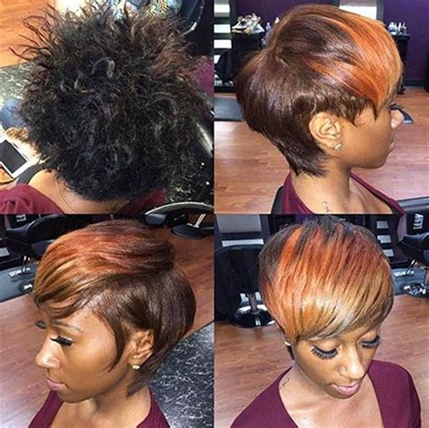 short pressed out hairstyles for black women 40 good short hairstyles for black women short